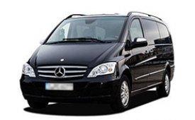 Каркасные шторки на Mercedes Viano Минивэн W639 открываются обе ЗБ 2010 - 2014