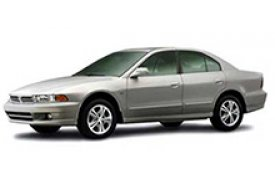 Каркасные шторки на Mitsubishi Aspire Седан 1998 - 2003