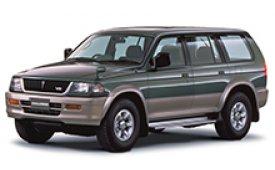 Каркасные шторки на Mitsubishi Challenger Внедорожник-Кроссовер K99W 1999 - 2001