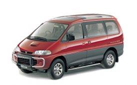 Каркасные шторки на Mitsubishi Delica (Express) Минивэн 1994 - 2007