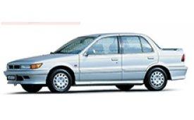 Каркасные шторки на Mitsubishi Lancer Седан 1988 - 1991