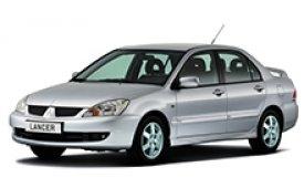 Каркасные шторки на Mitsubishi Lancer Седан 2000 - 2010