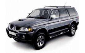 Каркасные шторки на Mitsubishi Montero Sport Внедорожник-Кроссовер 1999 - 2005