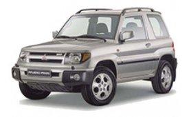 Каркасные шторки на Mitsubishi Pajero Pinin Внедорожник-Кроссовер 1999 - 2005