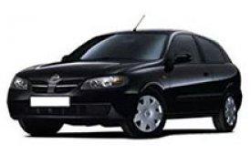Каркасные шторки на Nissan Almera Хетчбэк 3 дв. 2000 - 2006