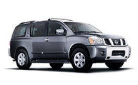 Каркасные шторки на Nissan Armada Внедорожник-Кроссовер 2004 - 2007