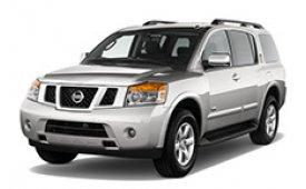 Каркасные шторки на Nissan Armada Внедорожник-Кроссовер 2007 - н.в.
