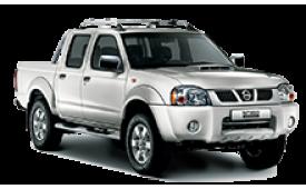 Каркасные шторки на Nissan Hardbody Пикап 2002 - 2008