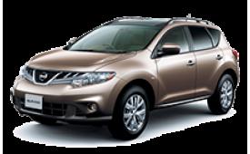 Каркасные шторки на Nissan Murano Внедорожник-Кроссовер 2008 - 2014