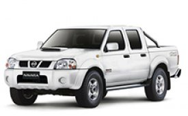 Каркасные шторки на Nissan Navara Пикап 2001 - 2005