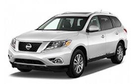 Каркасные шторки на Nissan Pathfinder Внедорожник-Кроссовер 2012 - н.в.