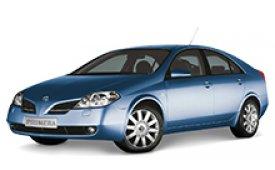 Каркасные шторки на Nissan Primera Седан 2001 - 2008