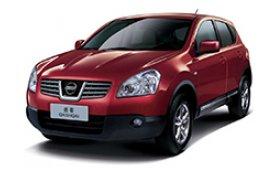 Каркасные шторки на Nissan Qashqai Внедорожник-Кроссовер 2007 - 2014