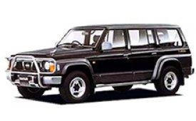 Каркасные шторки на Nissan Safari  Внедорожник-Кроссовер 1987 - 1997