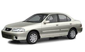 Каркасные шторки на Nissan Sentra Седан 1999 - 2006