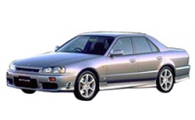 Каркасные шторки на Nissan Skyline Седан 1998 - 2002