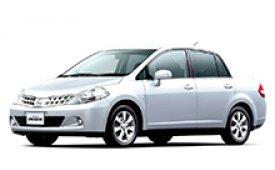 Каркасные шторки на Nissan Tiida Седан 2004 - н.в.