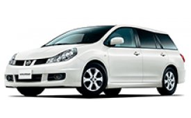 Каркасные шторки на Nissan Wingroad Минивэн 2005 - н.в.