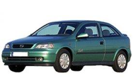 Каркасные шторки на Opel Astra Хетчбэк 3 дв. 1998 - 2004