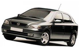 Каркасные шторки на Opel Astra Хетчбэк 5 дв. 1998 - 2004