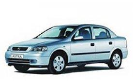 Каркасные шторки на Opel Astra Седан 1998 - 2004