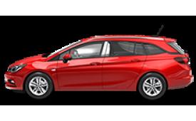Каркасные шторки на Opel Astra Универсал Sports Tourer 2015 - н.в.