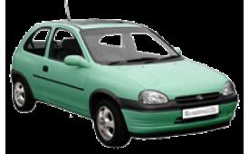 Каркасные шторки на Opel Corsa  Хетчбэк 3 дв. 1993 - 2000
