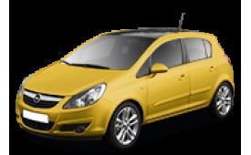 Каркасные шторки на Opel Corsa  Хетчбэк 5 дв. 2006 - н.в.