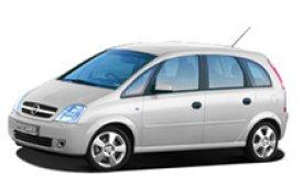 Каркасные шторки на Opel Meriva Минивэн 2003 - 2010
