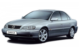 Каркасные шторки на Opel Omega  Седан 1994 - 2003