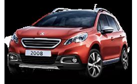 Каркасные шторки на Peugeot 2008 Внедорожник-Кроссовер 2013 - 2016