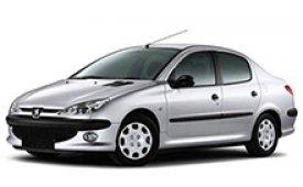 Каркасные шторки на Peugeot 206 Седан 1998 - н.в.