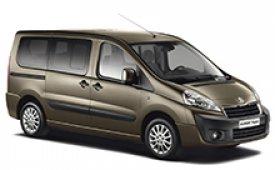 Каркасные шторки на Peugeot Expert Минивэн 2012 - н.в.
