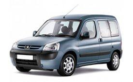 Каркасные шторки на Peugeot Partner Минивэн 1996 - 2011