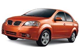 Каркасные шторки на Pontiac G3 Седан T250 2007 - 2009