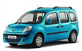 Каркасные шторки на Renault Kangoo Минивэн открывающиеся наружу окна задних дверей 2008 - 2013