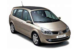 Каркасные шторки на Renault Scenic Хетчбэк 5 дв. 2003 - 2009
