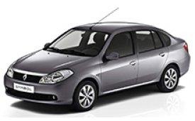 Каркасные шторки на Renault Symbol  Седан 2008 - н.в.