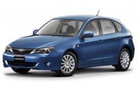 Каркасные шторки на Subaru Impreza Хетчбэк 5 дв. 2007 - 2011