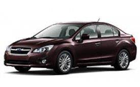 Каркасные шторки на Subaru Impreza Седан 2011 - н.в.