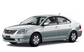 Каркасные шторки на Toyota Allion Седан правый руль 2001 - 2007