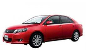 Каркасные шторки на Toyota Allion Седан правый руль 2007 - н.в.