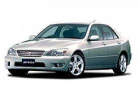 Каркасные шторки на Toyota Altezza Седан 1998 - 2005