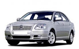 Каркасные шторки на Toyota Avensis Седан 2003 - 2008