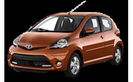 Каркасные шторки на Toyota Aygo  Хетчбэк 5 дв. 2005 - 2014