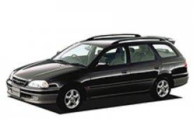Каркасные шторки на Toyota Caldina Универсал 1997 - 2002