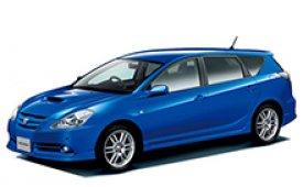 Каркасные шторки на Toyota Caldina Универсал правый руль 2002 - 2007