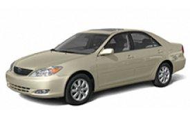 Каркасные шторки на Toyota Camry Седан правый руль 2001 - 2006