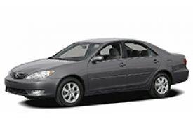 Каркасные шторки на Toyota Camry Седан 2001 - 2006
