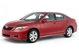 Каркасные шторки на Toyota Camry Седан правый руль 2006 - 2011